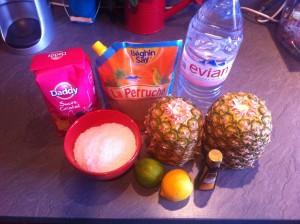 liqueur ananas - sirop ananas coco (2)