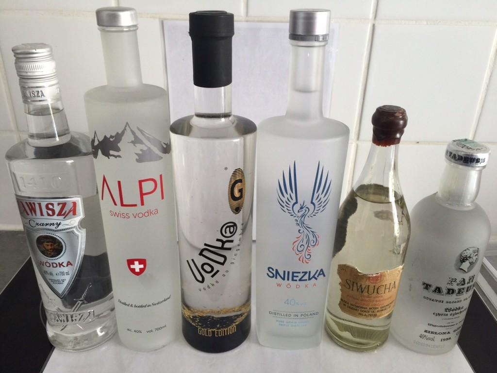 6 vodkas