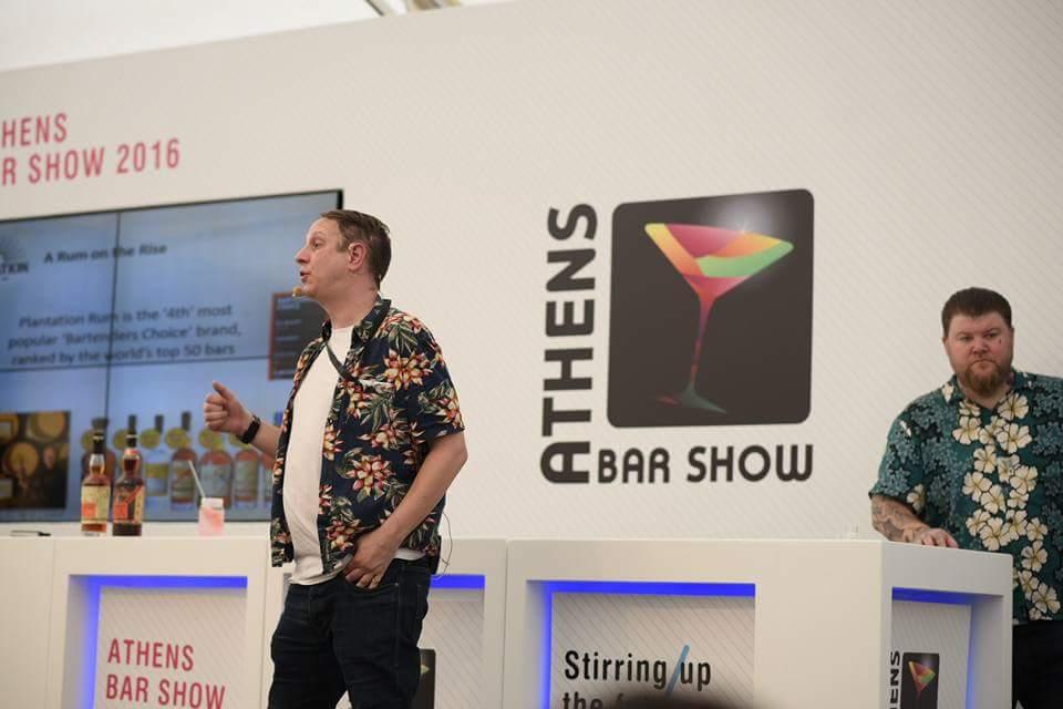Paul Mc Fayden - Copyright Athens Bar Show©