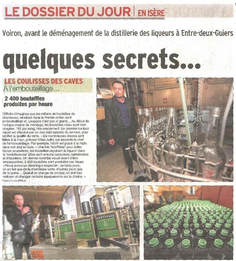 Le Dauphiné Libéré (17/05/2017) - Fêtes Vertes et Or Voiron #2