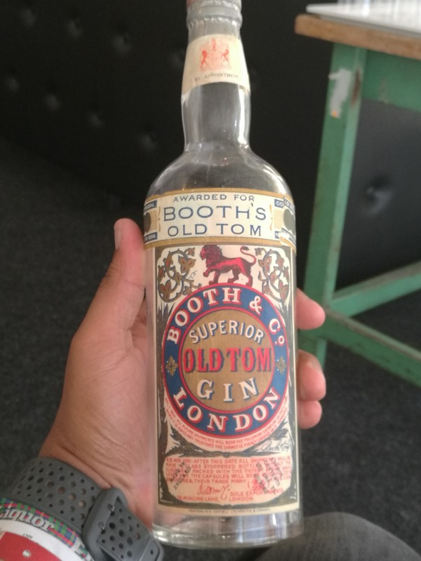 Vintage old Tom Gin