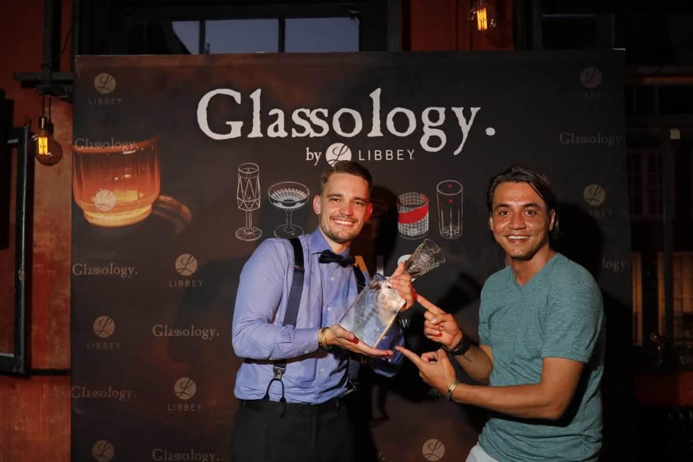 Yochen Verbeek, Vainqueur de ce Glassology 2018 - Copyright magazinediscotheque.com